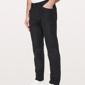 Men's black lululemon office wear pants
